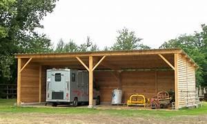 Abri De Jardin Ouvert : abris de jardin ouvert bois ~ Premium-room.com Idées de Décoration