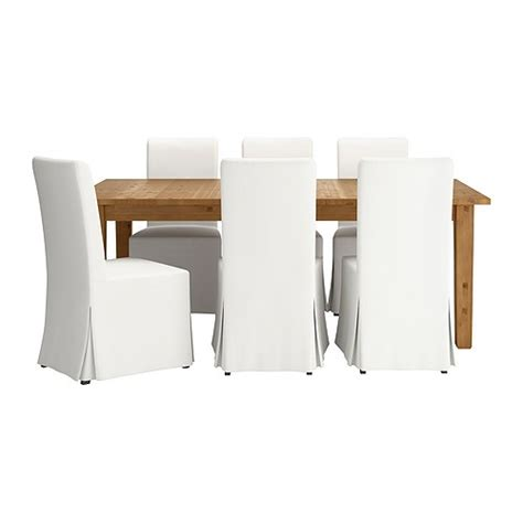 storn 196 s henriksdal table and 6 chairs ikea
