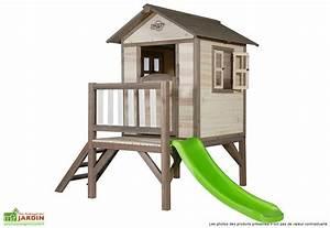 Maison Enfant Bois : maison bois enfant exterieur l 39 univers du b b ~ Teatrodelosmanantiales.com Idées de Décoration
