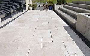 Terrassenplatten Granit Günstig : travertin platten g nstig online kaufen steinlese ~ Michelbontemps.com Haus und Dekorationen