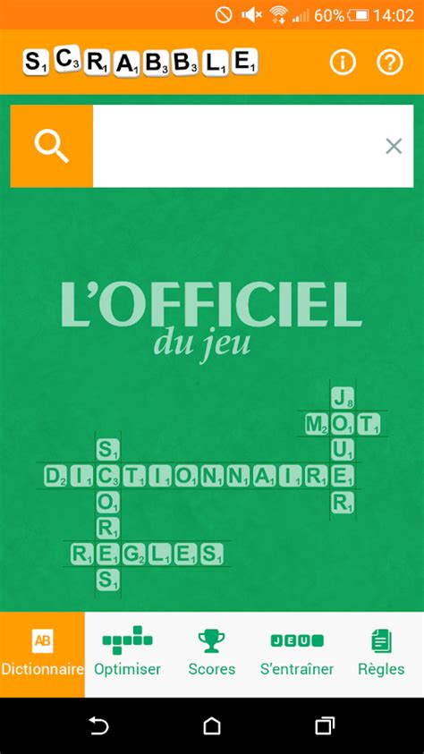 officiel du cuisiniste officiel du scrabble larousse applications android sur