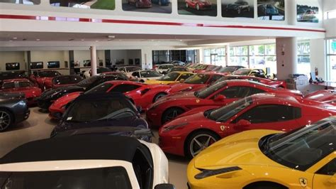 Florida Ferrari Dealer Packs In Exotic Cars For Hurricane
