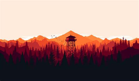 Firewatch Wallpapers 1920x1080 by Firewatch Best Wallpapers Ultra Hd