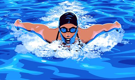 foto de Natation illustration de vecteur Illustration du