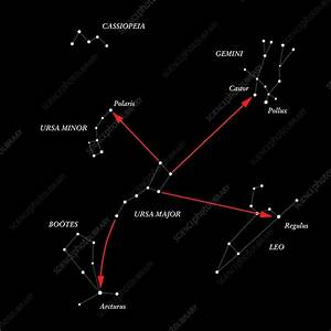 Northern Hemisphere Constellations  0578