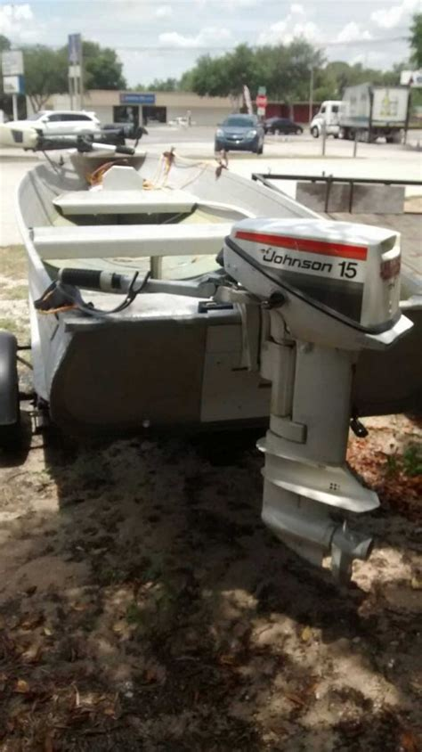 Fish Finder For Jon Boat by 12 Quot Ft Jon Boat Orlando 32726 Eustis Fl Boat Vehicle