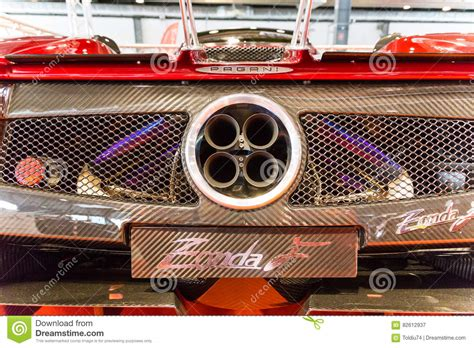 sport car exhaust pipes royalty  stock photo