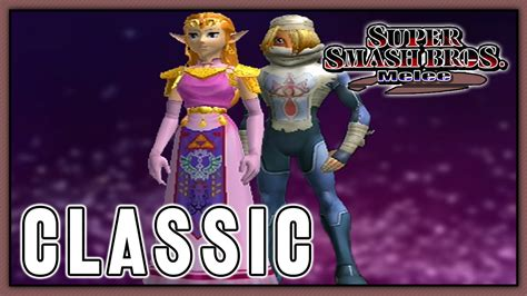 Super Smash Bros Melee Classic Zelda Sheik Youtube