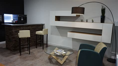 eclairage meuble cuisine led showroom cuisiniste ancenis nantes riaillé