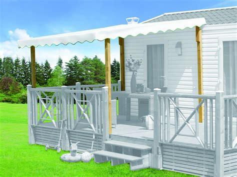 tonnelle pour mobil home couverture universelle clairval pour terrasses