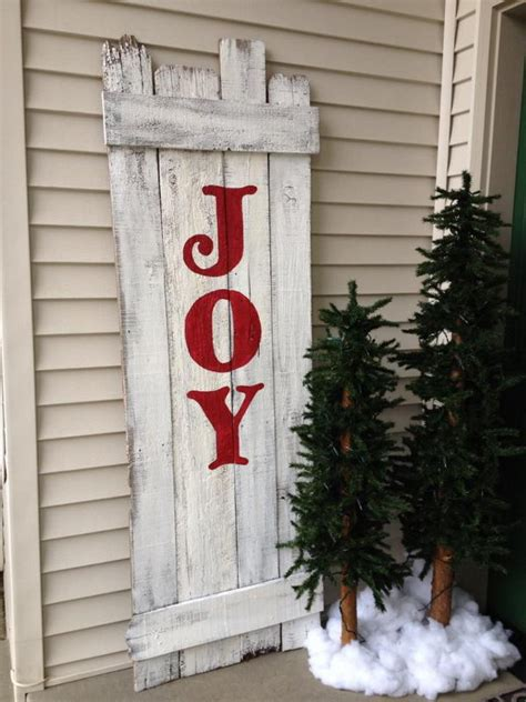 cool christmas joy sign ideas tutorials hative