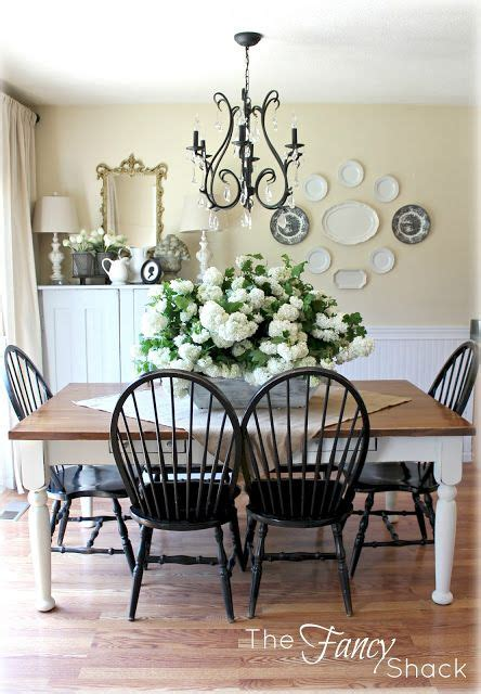 beautiful dining room vintage shabby chic hutch