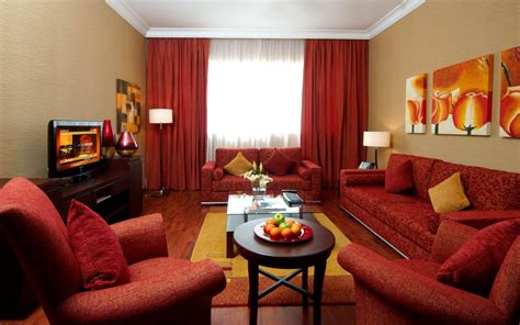 red sofa living room decor living room paint colors with red couch living room