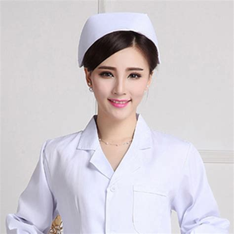 nurse hat authentic cap fashion vintage white cotton nurses costume hat ebay