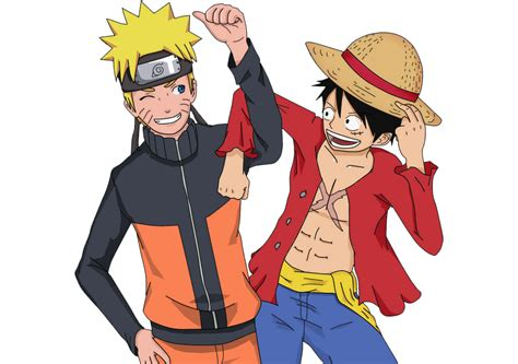 Follow the vibe and change your wallpaper every day! Download Wallpaper Naruto And Luffy | Download Kumpulan ...