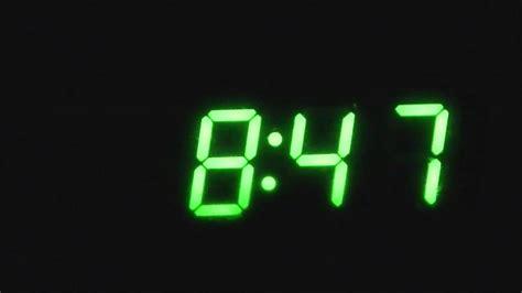 time lapse digital clock youtube