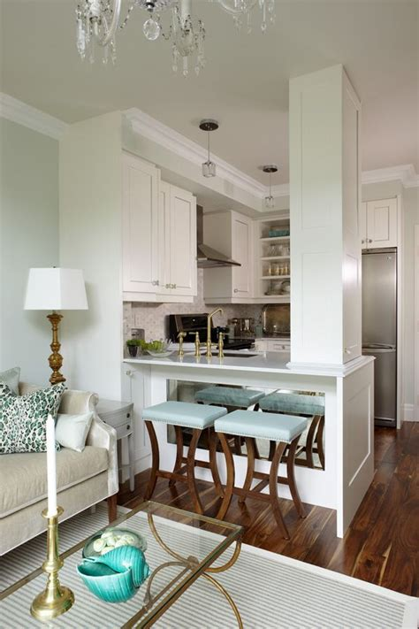 beautiful open kitchen  blends seamlessly   chic