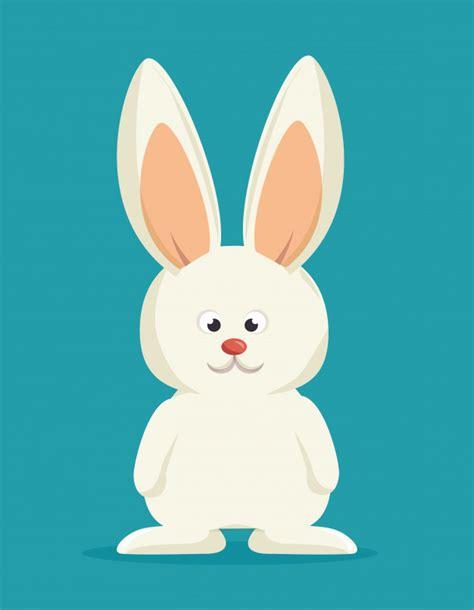 Conejito de dibujos animados conejo blanco Descargar