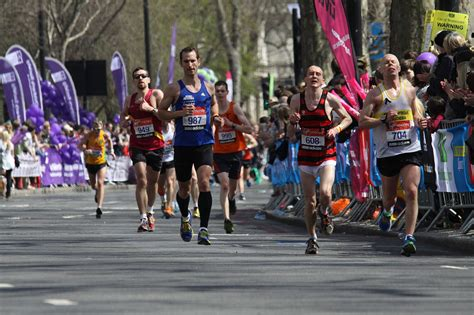 perfect pacing   london marathon running  data medium