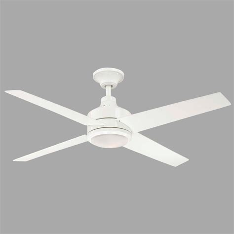 52 white ceiling fan with remote control hton bay mercer 52 in indoor white ceiling fan with
