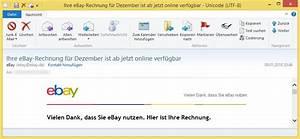 Gmx Rechnung : ihre ebay rechnung f r dezember ist ab jetzt online verf gbar von ebay ebay ist ~ Themetempest.com Abrechnung