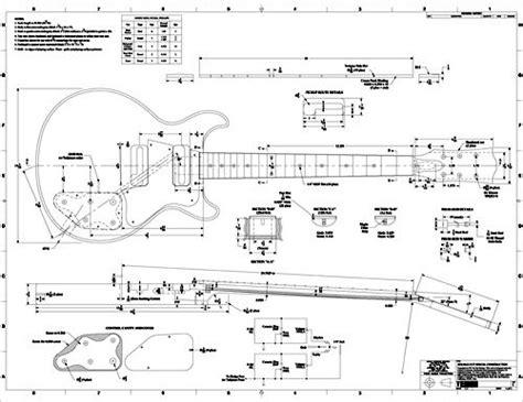 Les Paul Body Template Printable Invitation Templates