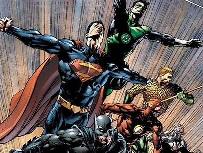 Justice League America Wallpapers Comics Flash Superman