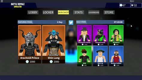 roblox battle royale simulator codes