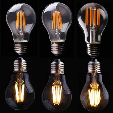 l light bulb e14 e27 edison 220v retro filament led bulb candle light