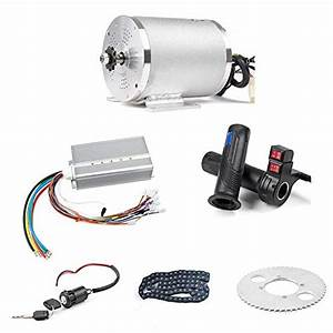 Bldc 72v 3000w Brushless Motor Kit With 24 Mosfet 50a
