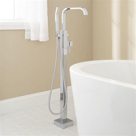 free standing tub faucet signature hardware ersa freestanding tub faucet ebay