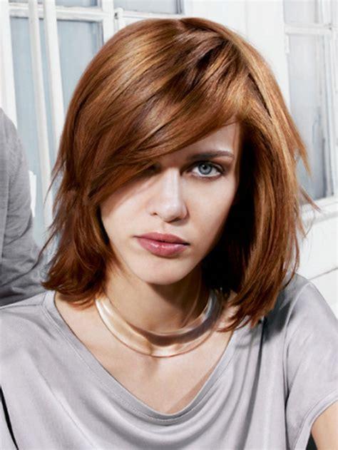 medium haircuts women s medium haircuts with bangs 2018