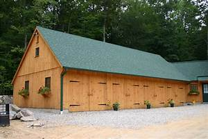 New england style barns post beam garden sheds for Country sheds and barns