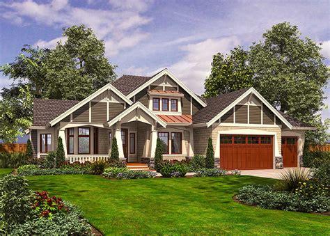 Daylight basement house plans craftsman walk out floor designs. Rambler with 3 Car Garage - 23382JD | Architectural ...
