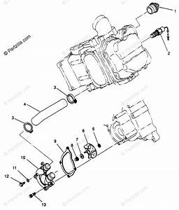 Polaris Atv 1996 Oem Parts Diagram For Water Pump Sportsman 500