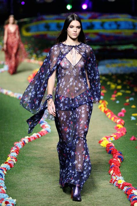 kendall jenner tommy hilfiger fashion show   york