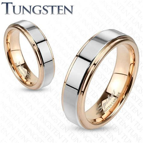 mens womens tungsten rose gold silver band ring wedding couples sizes 5 13 182 ebay