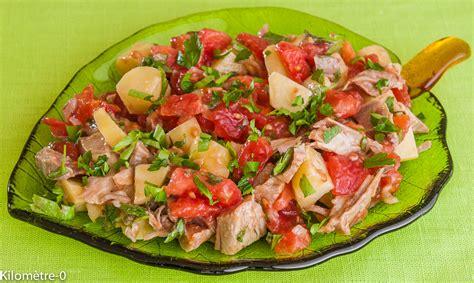 cuisiner un jambonneau recettes de tomate et de salade composée