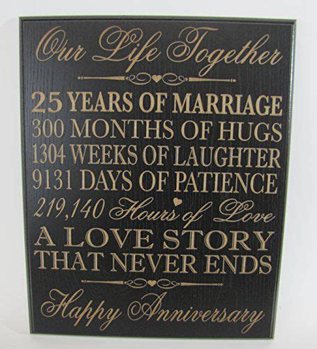 wedding anniversary wall plaque gifts  couple