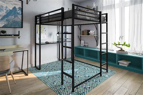 loft bed size abode size loft bed dhp furniture