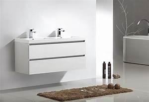 Meuble Tiroir Salle De Bain : meuble salle de bain city 120 collection meuble design ~ Edinachiropracticcenter.com Idées de Décoration