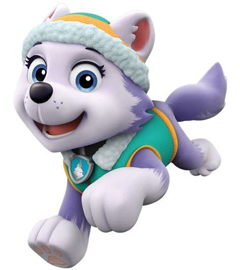 everest jumping paw patrol clipart png about everest paw patrol Unique