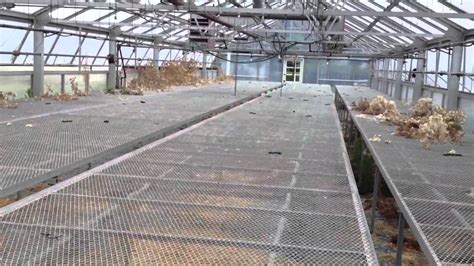 roll up table plans rolling greenhouse benches tables youtube