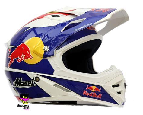White Red Bull Cirus Helmet