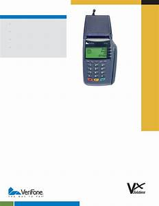 Verifone Credit Card Machine Vx 610 User Guide