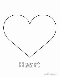 heart template large heart template printables With heart template for printing