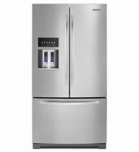 Kitchenaidr 27 cu ft standard depth french door for Kitchenaid architect ii refrigerator