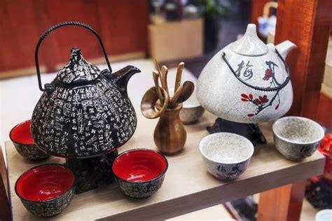travel  souvenirs china chinese tea sets  display