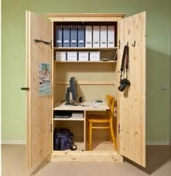 kuschelhöhle kinderzimmer arbeitsplatz kleines büro im schrank selber machen heimwerkermagazin