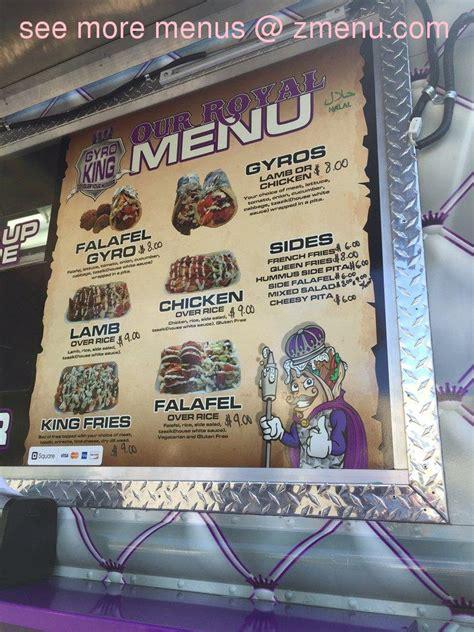 Online Menu of Gyro King Restaurant, Sacramento ...